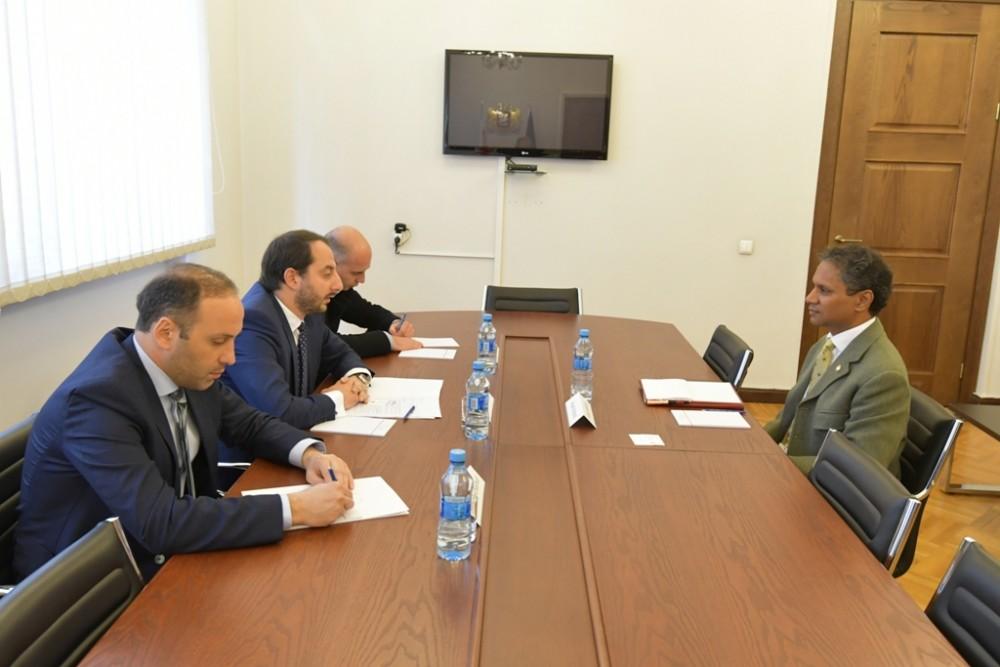 ირაკლი მეზურნიშვილი საერთაშორისო ანტიკორუფციული საპარლამენტო ორგანიზაციის თავმჯდომარეს შეხვდა