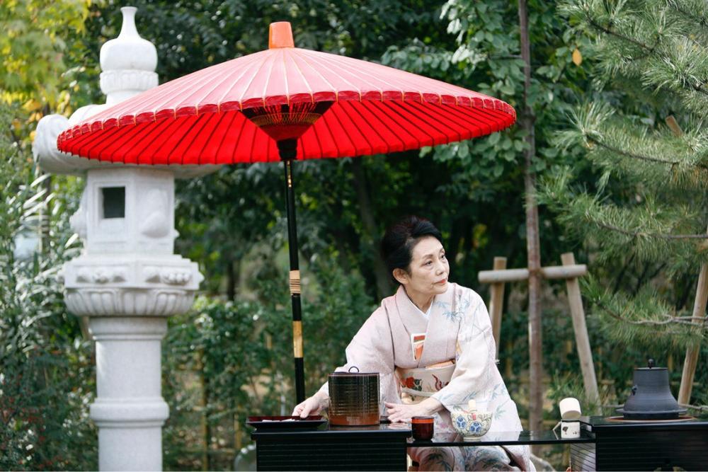 ბოტანიკურ ბაღში ჩაის ცერემონია და იაპონური კალიგრაფიის ჩვენება გაიმართა