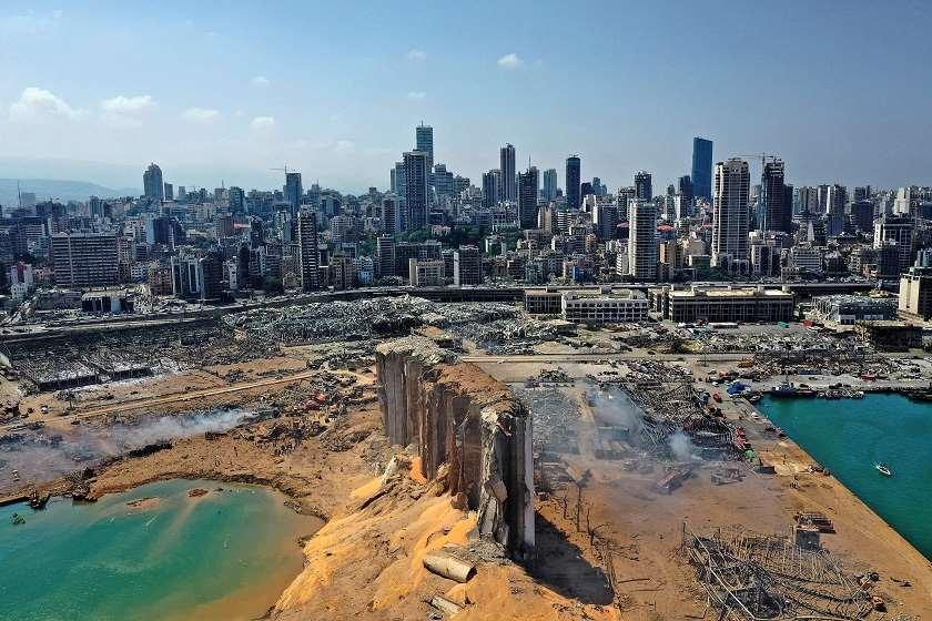 ლიბანის ხელისუფლებამ ბეირუთი კატასტროფის ზონად გამოაცხადა