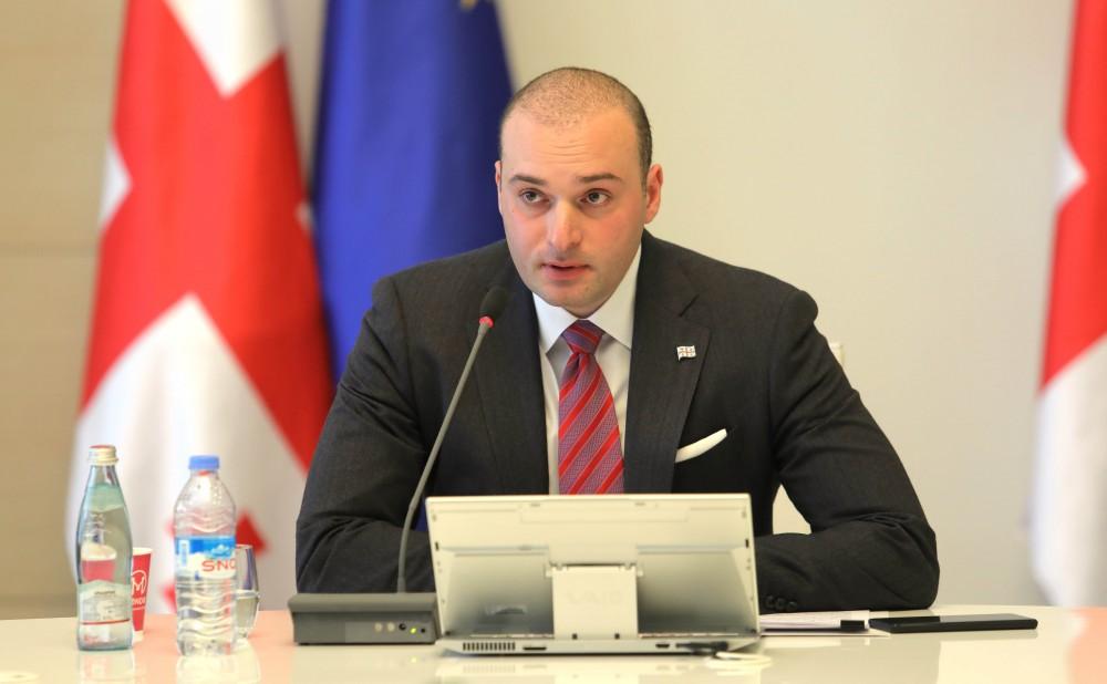 პრემიერი: საქართველოში არიან უპასუხისმგებლო პოლიტიკოსები, რომლებიც ყველა პროცესისგან ცდილობენ, დაიწერონ პოლიტიკური ქულები