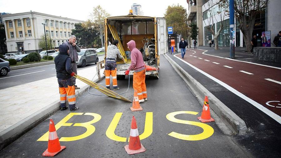 ავტობუსების ზოლში მოძრავი მძღოლების გამოსავლენად, შესაძლოა, კამერები დამონტაჟდეს