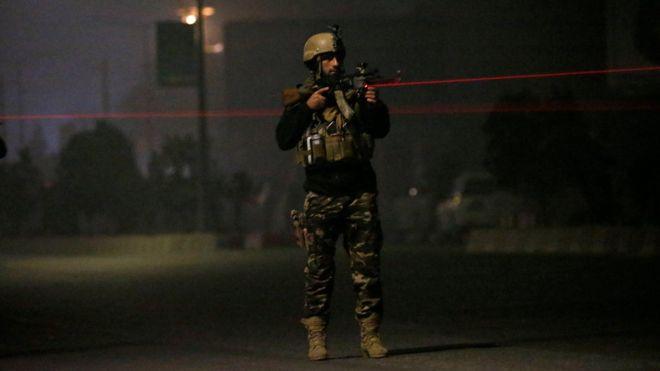 ქაბულში სასტუმროზე თავდასხმისას სავარაუდოდ, რამდენიმე ადამიანი მოკლეს