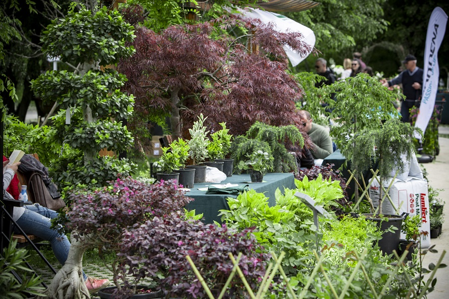 ბოტანიკურ ბაღში მწვანე  გამოფენა  Green Expo 2019 გაიმართა