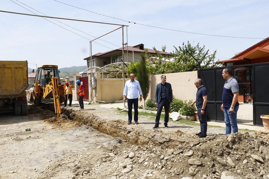საბურთალოს რაიონში, იან ჰომერის ქუჩის რეაბილიტაცია დაიწყო