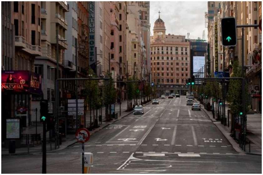 ესპანეთმა საგანგებო მდგომარეობა 11 აპრილამდე გაახანგრძლივა