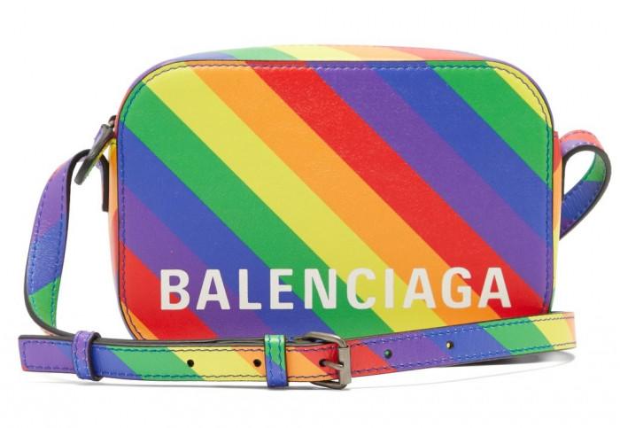 Balensiaga-მ მომხმარებლებს მორიგი სიურპრიზი მოუწყო - LGBT- ფერებში შექმნილი ჩანთა