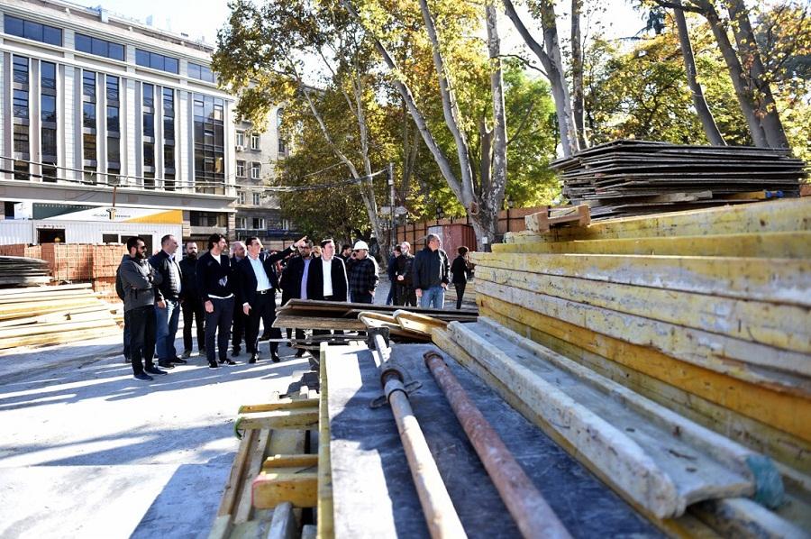 ორბელიანის მოედნის რეაბილიტაციის ფარგლებში, მიწისქვეშა ავტოსადგომის მშენებლობა დასრულდა