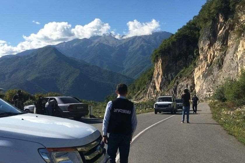 ცაგერის მუნიციპალიტეტის 2 სოფელში პოლიციის სპეციალური საკონტროლო პუნქტები მოეწყო