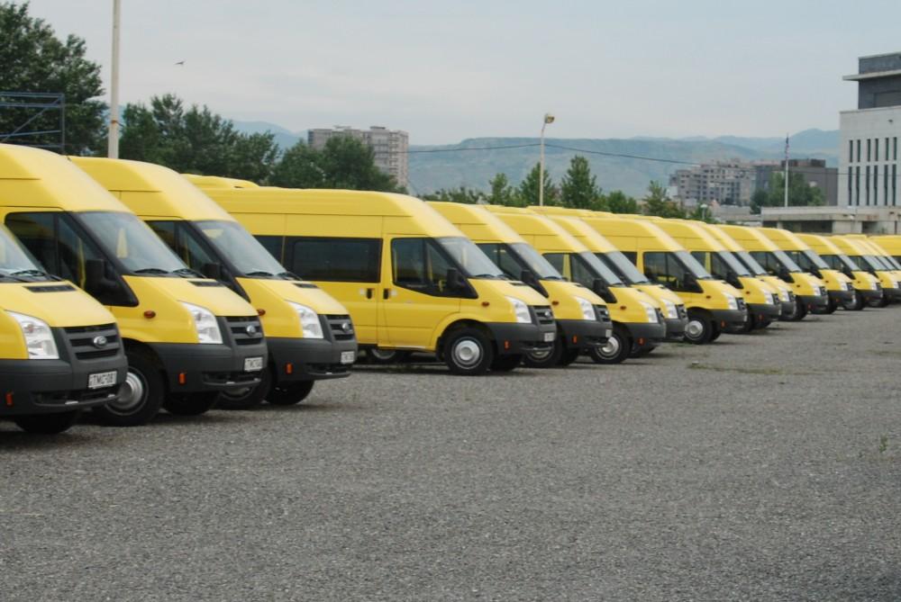 თბილისში კიდევ 12 ქუჩაზე მიკროავტობუსები მხოლოდ გაჩერებებზე გაჩერდებიან