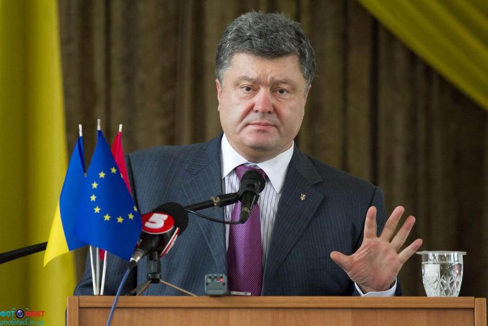 უკრაინის პრეზიდენტმა რუსეთის ხელისუფლებას მოთხოვნები წაუყენა