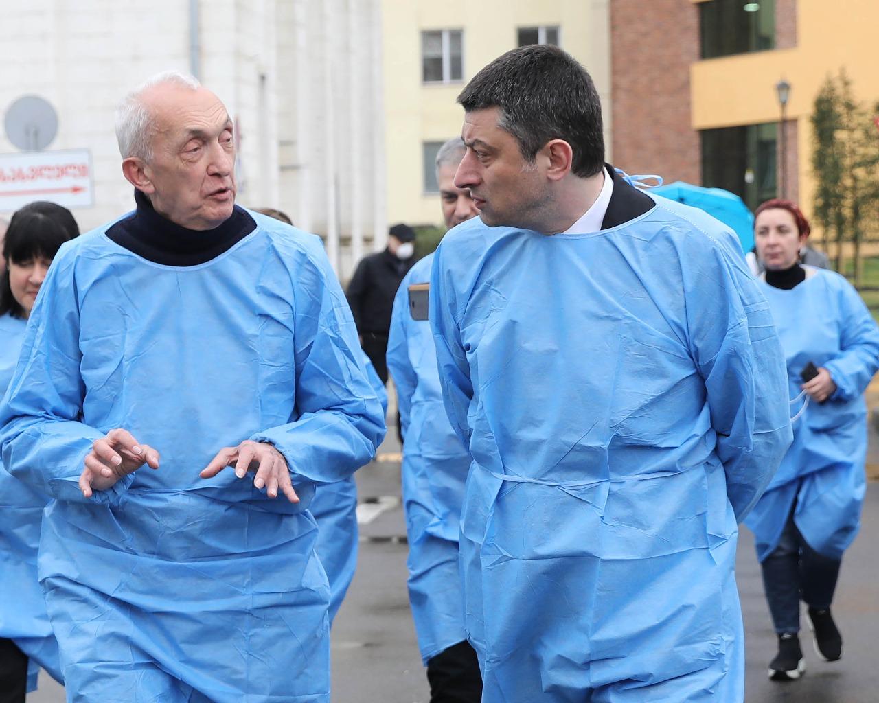 თენგიზ ცერცვაძე - პრემიერ-მინისტრი გამოდგა შესანიშნავი კრიზის მენეჯერი