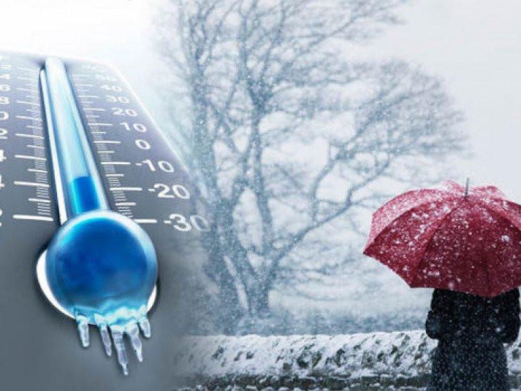 თოვლი და წვიმა - ამინდის პროგნოზი