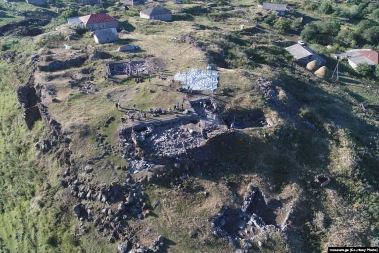 რაბათის ნამოსახლარზე არქეოლოგიური ძეგლი აღმოაჩინეს