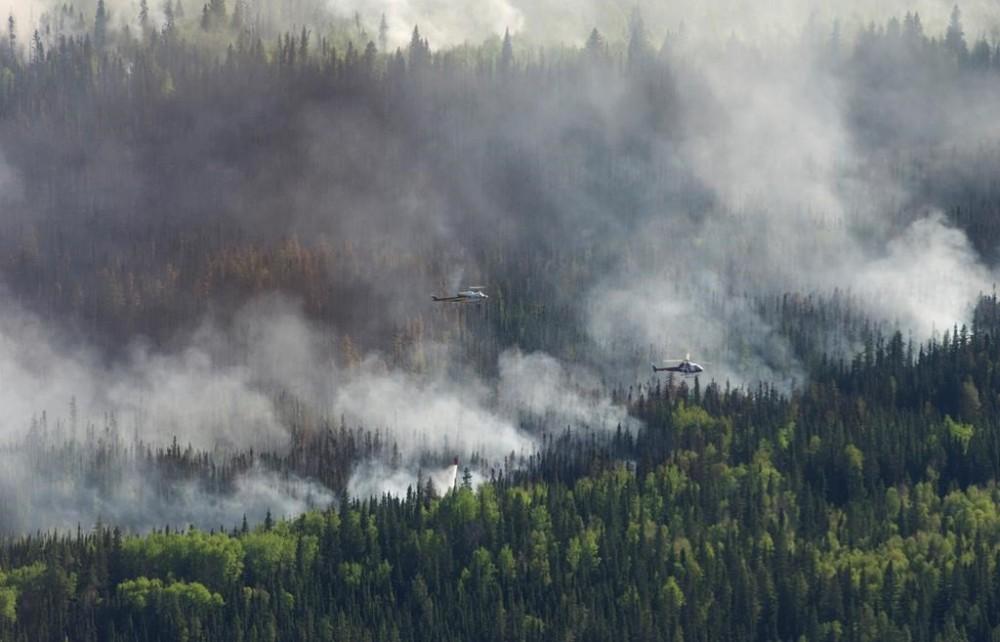 კანადაში, ტყის ხანძრის გამო 9 000-ზე მეტი ადამიანი ევაკუირებულია