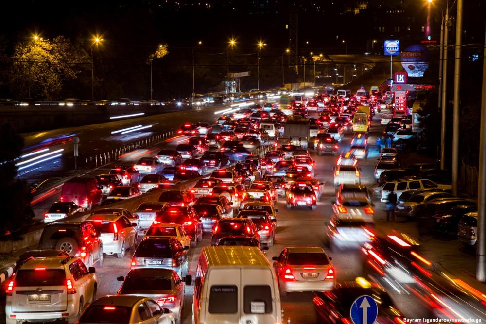 საქართველოში ჰაერის დაბინძურების 71% მანქანებზე მოდის