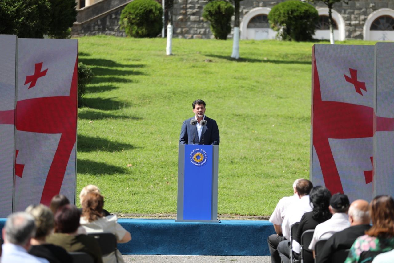 """კახა კალაძე - უახლოეს მომავალში გახდება ცნობილი, ვინ იქნება """"ქართული ოცნების"""" საარჩევნო სიაში"""