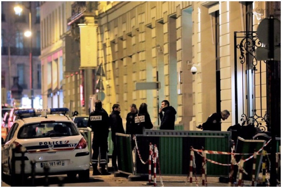 პარიზში ერთ-ერთი სასტუმროდან 4,7 მილიონი ევროს ძვირფასეულობა გაიტაცეს