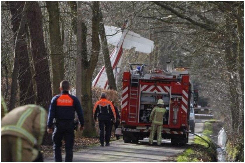 ბელგიაში ავიაკატასტროფას 2 ადამიანი ემსხვერპლა