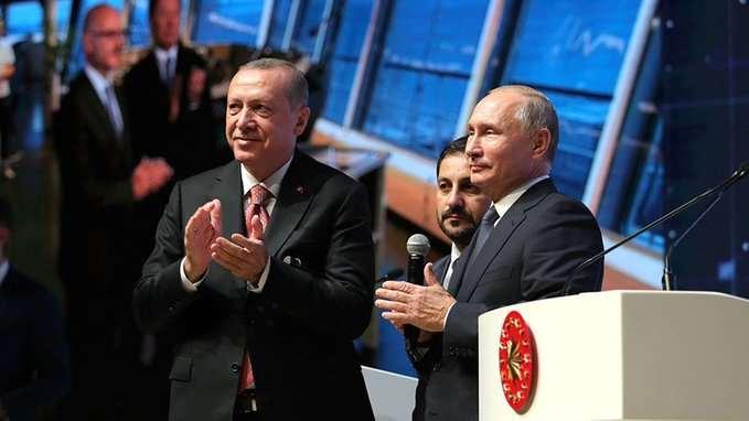 """გაზსადენი """"თურქეთის ნაკადი"""" გაიხსნა"""