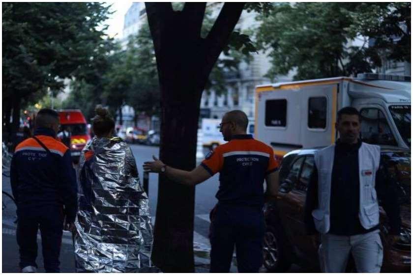პარიზის ცენრტში ძლიერი ხანძრის შედეგად, 3 ადამიანი დაიღუპა