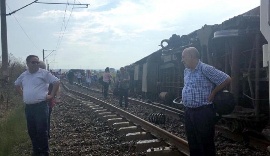 10 გარდაცვლილი და 73 დაშავებული - სარკინიგზო ავარია თურქეთში